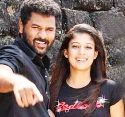 Nayantara-Prabhu Deva once again together to watch Wanted