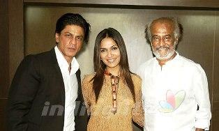 SRK and Rajini together in RA ONE
